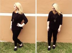 Classic Black Outfit #style #fashion #outfit #ootd #fashionblog #fblogger #fblog #fashionblogger #outfitidea