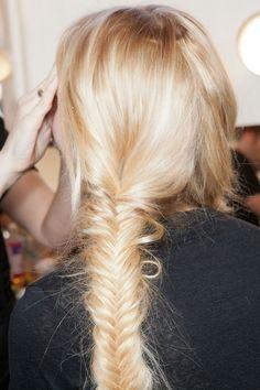 nice fishtail braid