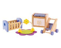 Poppenhuis Meubels Babykamer | Hape