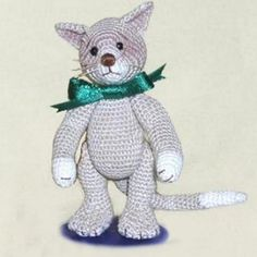 Bob E Cat - Free crochet pattern, Ravelry download.