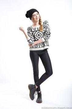 Sweaters invierno 2015 moda juvenil Como quieres que te quiera.