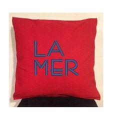 Nautical Pillow cover/ Beach House Pillow Cover / Red Pillow cover/ Preppy Pillow/ Coastal Decor/ Coastal Living Decor/ Beach Decor