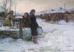 Ладейщиков Виктор Леонидович (1928-1987) «Приехал» 1956