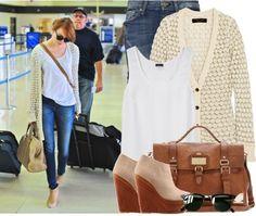 """Celebrity Style: Emma Stone"" by lovelyleah23 ❤ liked on Polyvore"
