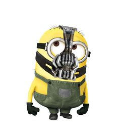 Minions: Bane, Batman: The Dark Knight Rises Minion Movie, Minions Despicable Me, My Minion, Funny Minion, Minion Pumpkin, Minion Banana, Minions Funny Images, Minions Quotes, Frames