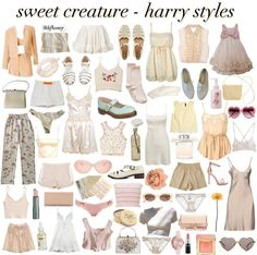 Harry styles, creature, and harry: sweet creature - harry styles Pretty Outfits, Cool Outfits, Summer Outfits, Casual Outfits, Fashion Outfits, Classy Aesthetic, Aesthetic Fashion, Aesthetic Clothes, Harry Styles Memes