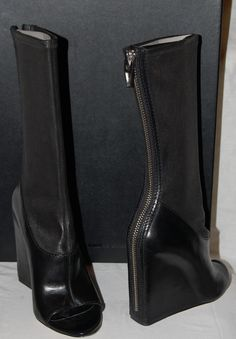 Used Alexander Wang Women's Shoes Boots | Alexander Wang Open Toe Boots Size 37 | Designer Consignment Online