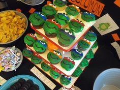 ninja turtle birthday party ideas | Uploaded to Pinterest