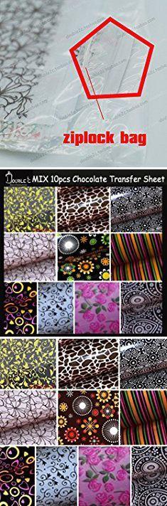 Chocolate Molds Near Me. Saasiiyo 10PCS Mix Hot Design Chocolate Transfer Sheet,DIY Chocolate Mold,Chocolate Printed Sheet,Chocolate/Cookie/Cake Decoration.  #chocolate #molds #near #me #chocolatemolds #moldsnear #nearme