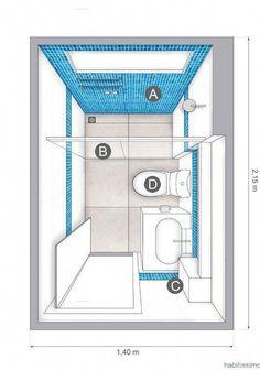 Serene Bathroom, Small Bathroom Layout, Small Bathroom Storage, Bathroom Closet, Bathroom Doors, Basement Bathroom, Bathroom Faucets, Diy Bathroom Remodel, Shower Remodel