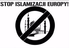 Znalezione obrazy dla zapytania nie dla islamistów