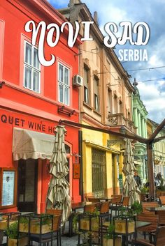 There are so many exciting things to do in Novi Sad, Serbia if you're planning a trip through the Balkans. Check out this colorful city! Serbia Travel, Belgrade Serbia, Novi Sad, Albania, Eastern Europe, Wanderlust Travel, Romantic Travel, European Travel, Australia Travel