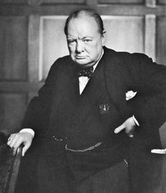 """History will be kind to me for I intend to write it."" - Winston Churchill bow tie wearer"