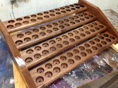 LARGE Essential Oil 4 Tier Rack and by TourtillottCreations