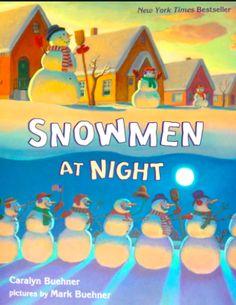 Little Miss Glamour Goes To Kindergarten: super. simple. snowmen.