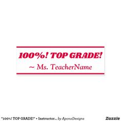""" + Instructor Name Rubber Stamp created by AponxDesigns. School Teacher, The 100, Motivational, Stamps, Student, Messages, Education, Inspiration, Seals"