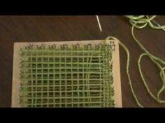 Telar de mesa: técnica básica