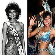In addition to being a former Miss Ohio and runner up to MIss USA, academy award winning actress Halle Berry is also a former Miss Teen All-American Halle Berry Style, Halle Berry Hot, Halle Berry Young, Pageant Tips, Beauty Pageant, Hale Berry, Black Actresses, Famous Women, Iconic Women