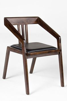 Not as cool as Sam Maloof, but still. A4 Chair With Synthetic Leather, $95, available at HDButtercup.