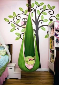 So this is probably meant for a child but I want one for myself...I totally had a swing in my playroom when I was little...my dad was cool like that:)
