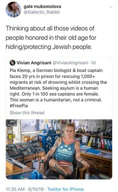 Except you can't just ship north Africans to Europe illegally, bump into warships, while violating the right of Italy to refuse these acts of human trafficking. There are good reasons why you can't do that. Faith In Humanity Restored, Badass Women, Thats The Way, Equal Rights, The More You Know, Women In History, Social Issues, Social Justice, Good People