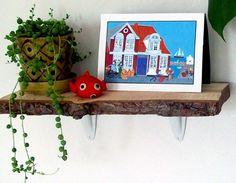 9. Log Shelves - 15 Simple but Awesome DIY Shelf Ideas ... → Lifestyle