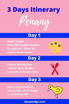 Are you planning a trip to Penang Malaysia? Although it is a small island, there are lots of things to do in Penang and lots of great food to try! Check out this perfect Penang itinerary that covers all the spots you shouldn't miss! #penang #penangtravel #penangmalaysia #malaysiatravel #smallisland #penangitinerary #travelasia #explore Budget Travel, Travel Tips, Travel Destinations, Penang Hill, Malaysia Travel Guide, Spice Garden, Small Island, Travel Information, Plan Your Trip