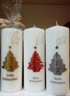 Weihnachtskerzen, Weihnachten, Kerzen, Taufkerze, Taufkerzen, Hochzeitskerzen, Kommunionkerzen, Neuburg an der Donau Gel Candles, Scented Candles, Pillar Candles, Candels, Water Candle, Making A Bouquet, Diy Crafts To Do, Homemade Candles, Christmas Candles