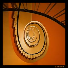 orange hook #staircases