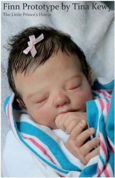 Prototype Finn by Tina Kewy REBORN Doll Baby Newborn Girl IIORA
