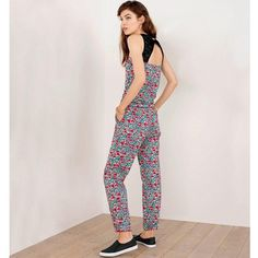 Combi-pantalon imprimé Liberty MADEMOISELLE R
