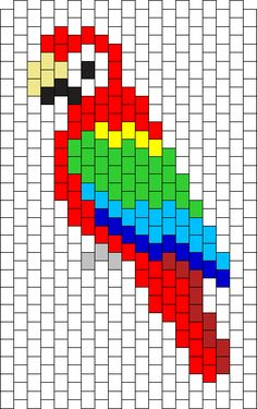 Greenwing Macas Bead Pattern
