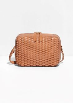 & Other Stories image 1 of Braided Shoulder Bag in Light Brown