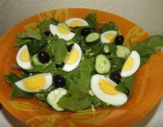 Salată cu spanac