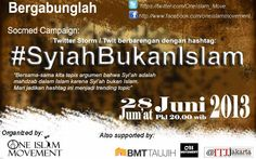 Join us on Social Media Campaign with hashtag #SyiahBukanIslam
