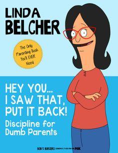 Bob's Burgers - The Kids Run Away - Linda's parenting book! #bobsburgers #kids pic.twitter.com/x4RtQrRhjZ