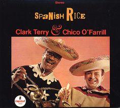 """Clark Terry and Chico O'Farrillの60年代もの。  アフロキューバンサウンドを取り入れた聴きやすいLPですね。  jazzとlatinが見事に融合したナンバーがずらり。  Chico O'Farrillはキューバ生まれの作曲家/トランペット奏者。  Machitoにも楽曲提供していますね。  """"Peanut Vendor""""のカバーはBPMも早めで見事が疾走latin。  このカバーが一番スキかも!"""