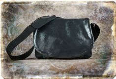 Leather Camera Bag   Gray Patent Leather Tapestry by PorteenGear, $140.00