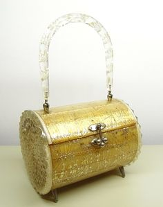Lucite purse...from my collection