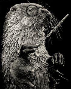 Harry Otter on Behance