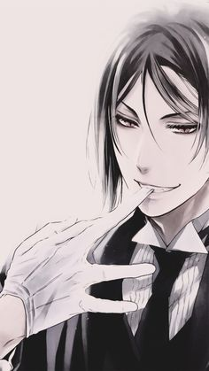 Image via We Heart It https://weheartit.com/entry/187485909 #blackbutler #kuroshitsuji #manga #sebastianmichaelis