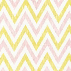 Chevron | Pinkish from simpatico by Michelle Engel Bencsko for Cloud9 Fabrics