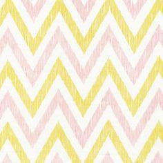 Chevron | Pinkish from simpatico by Michelle Engel Bencsko for Cloud9 Fabrics