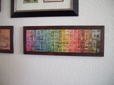 Postage Stamp Art - First Class Spectrum
