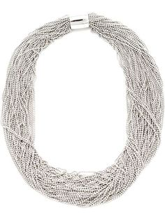 Shop Brunello Cucinelli beaded multiple strand chocker in Mario's from the world's best independent boutiques at farfetch.com. Over 1500 brands from 300 boutiques in one website.