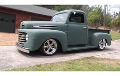 0 hot rod, street rod and muscle 1949 Ford Pickups for sale today on Hotrodhotline Classic Pickup Trucks, Old Pickup Trucks, Ford Pickup For Sale, 1948 Ford Truck, Hot Rod Pickup, Muscle Cars For Sale, Sand Rail, Pick Up, F1