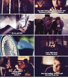 """#TVD 6x06 """"The More You Ignore Me, the Closer I Get"""" - Damon and Stefan"""