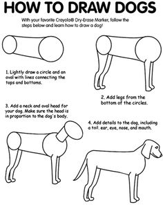 how to draw beagle puppies step by step