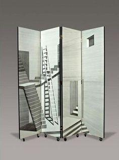 Escher-esque. Can I climb in and upward?