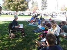 Story Time in the Park #Denver #free #toddler #Sunday mornings #June #July #August #September #October